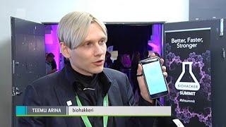 Yle Uutiset 25.09.2015 :: Biohacker Summit 2015