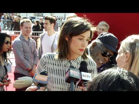 Cobie Smulders At the Lego Movie Premiere!