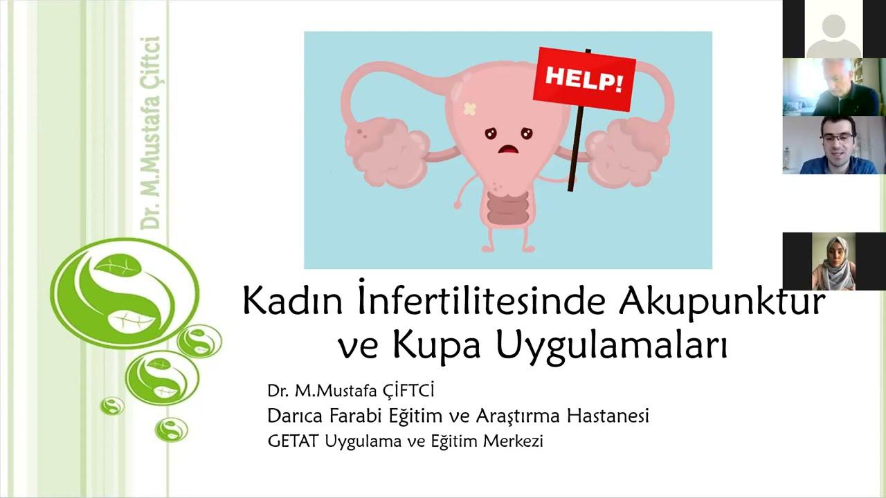 Dr. Mustafa Çiftci - Kadın İnfertilitesinde Akupunktur ve Kupa Uygulamaları