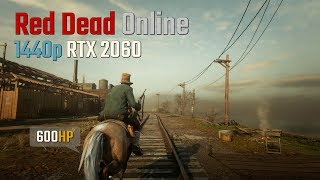 Red Dead Online 1440p RTX 2060