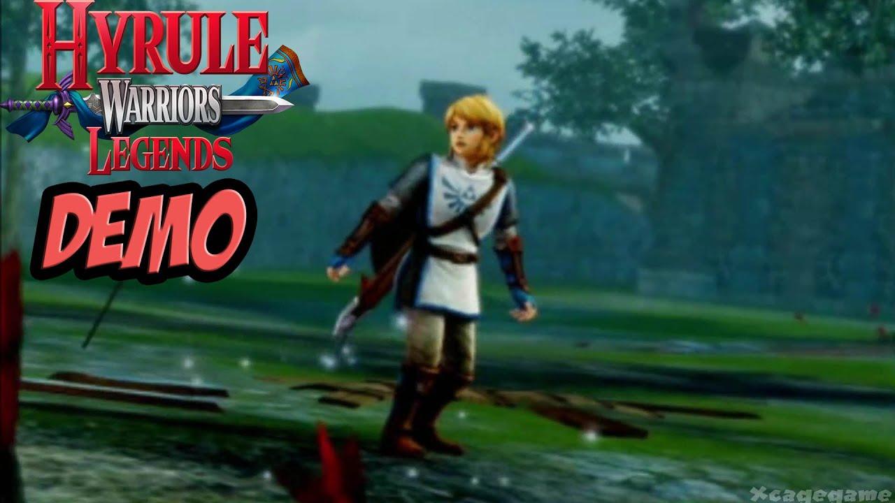 Hyrule Warriors Legends - Demo Gameplay Walkthrough [ 3DS ...