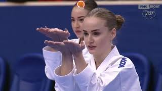 Paris Open 2020: Female Team Kata – RUSSIA vs PORTUGAL