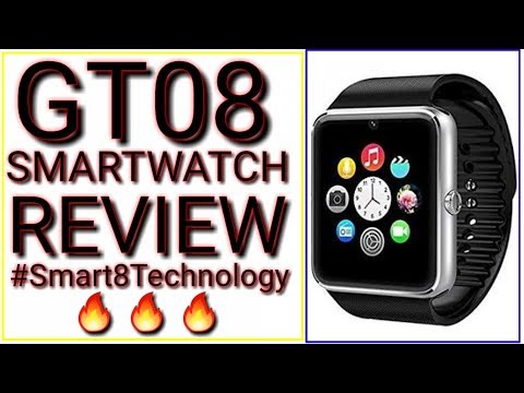 1ae8cbec001 GT08 smartwatch unbiased review in Hindi - YouTube
