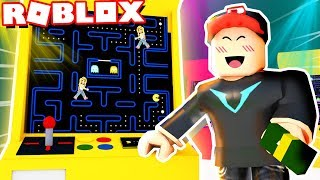 WE DO OWN a GAMES in ROBLOX! (Roblox Arcade Tycoon) | Vito and Bella