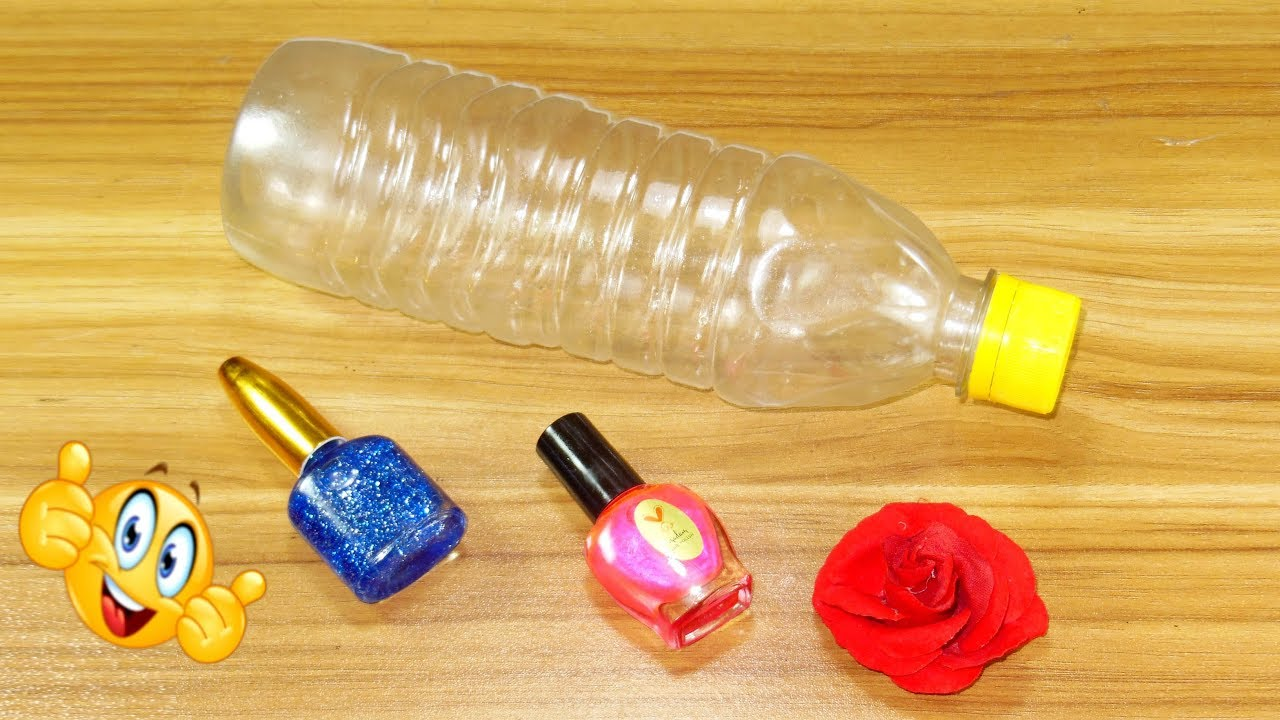 Plastic bottle craft idea best out of waste plastic for Best out of waste plastic bottles