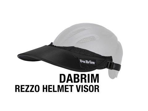 25ffd5b2 DaBrim Rezzo Helmet Visor and Attachment Set - YouTube