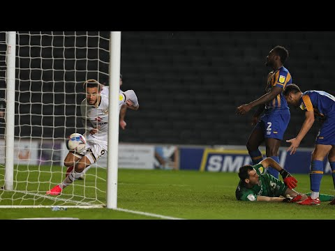 Milton Keynes Shrewsbury Goals And Highlights