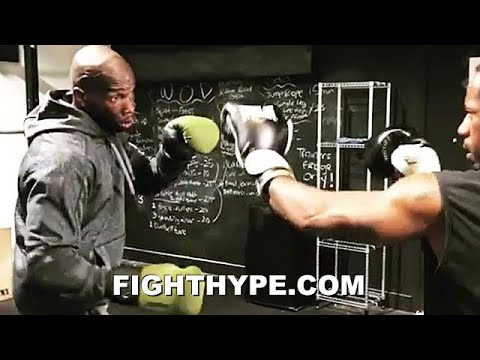 CHAD JOHNSON BOXING FIRST LOOK ON MAYWEATHER VS. LOGAN PAUL; OCHOCINCO EXHIBITION FIGHT ON UNDERCARD