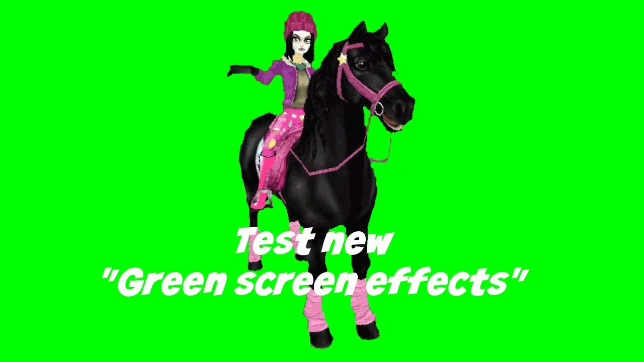 """Starstable online - Test new """"Green screen effects"""" - YouTube"""