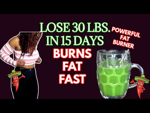 lose-3o-lbs.-in-15-days-|-powerful-fat-burning-drink-|-melt-belly-fat-fast-|-thermogenic-power