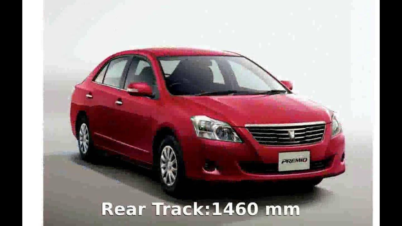 2006 Toyota Premio 2.0 G Info and Specs - YouTube