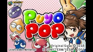 Puyo Pop (2001, GBA) - 1 of 2: Story mode