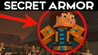 Minecraft Story Mode - SECRET CHOICE GOLDEN ARMOR - Season 2  Episode 4 Alternative Choices