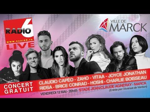Les Artistes du Radio 6 Live Marck 12 mai 2017