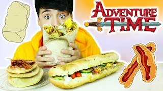 i only ate ADVENTURE TIME FOODS for 24 hours!!!