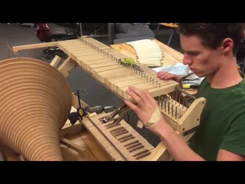 Stepper Organ: Lever Bases and Finishing Keys