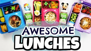🔥HOT LUNCHES and NO SANDWICHES!🍎 School Lunch Ideas for Kids