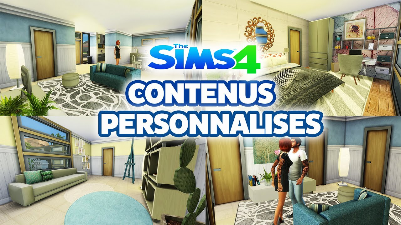 tutoriels sims 4 t l charger des contenus personnalis s. Black Bedroom Furniture Sets. Home Design Ideas
