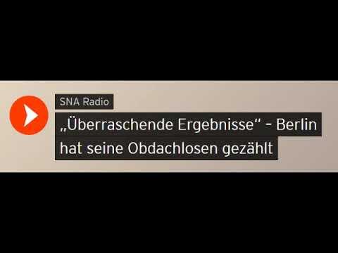 """""""Überraschende Ergebnisse"""" Berlin hat seine Obdachlosen gezählt (Sputniknews)"""