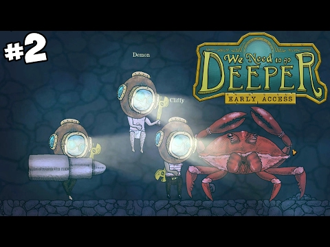 Undersea Cave Exploration - We Need to Go Deeper Gameplay - Part 2