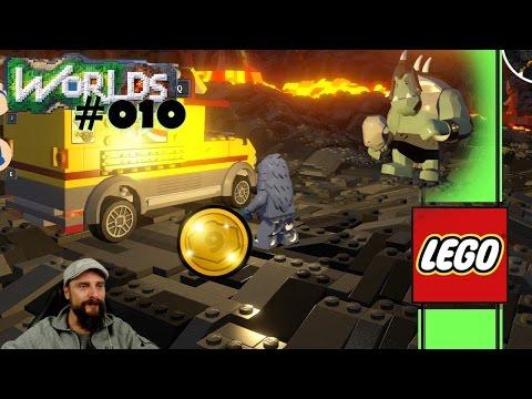 Lego Worlds deutsch 💻 010:  Große Welten, unser Troll & Code-Bereich am Start 💿 german gameplay