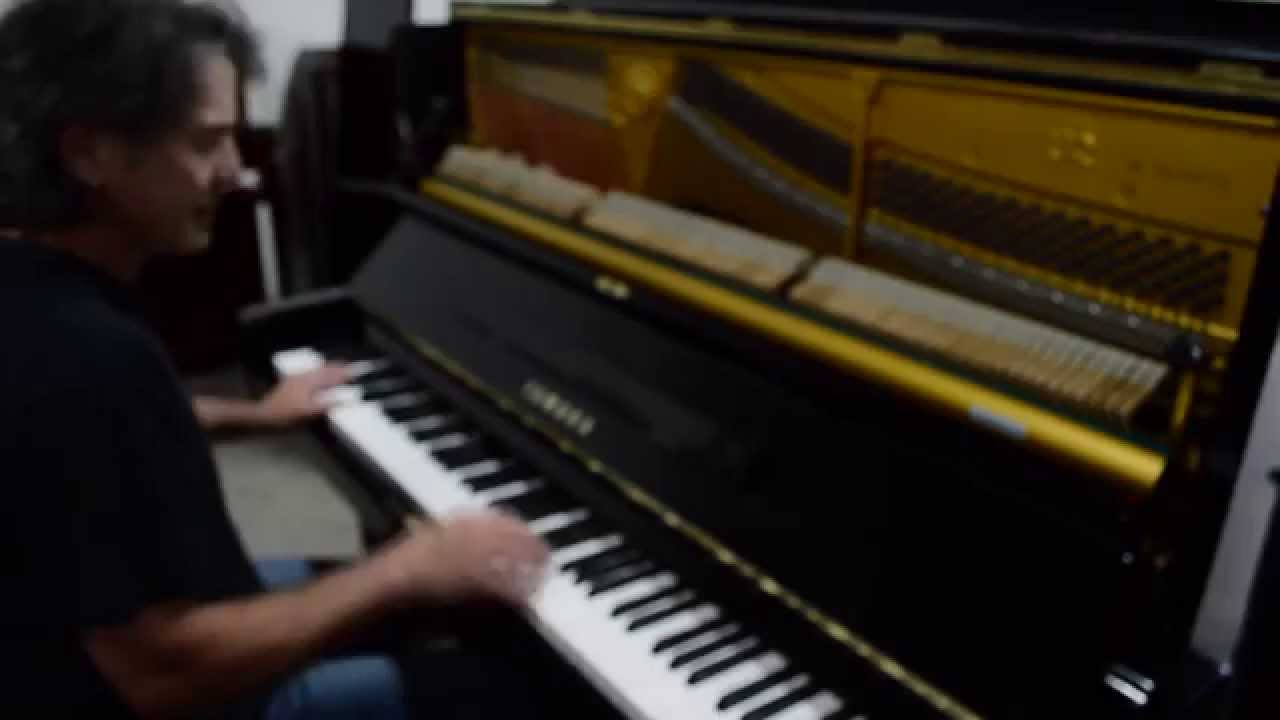 Yamaha u2 upright piano for sale youtube for Yamaha u2 piano