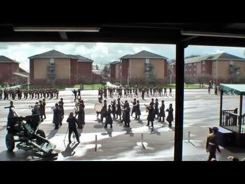 Passing Out Parade, ATC Pirbright (28 Feb 2014)