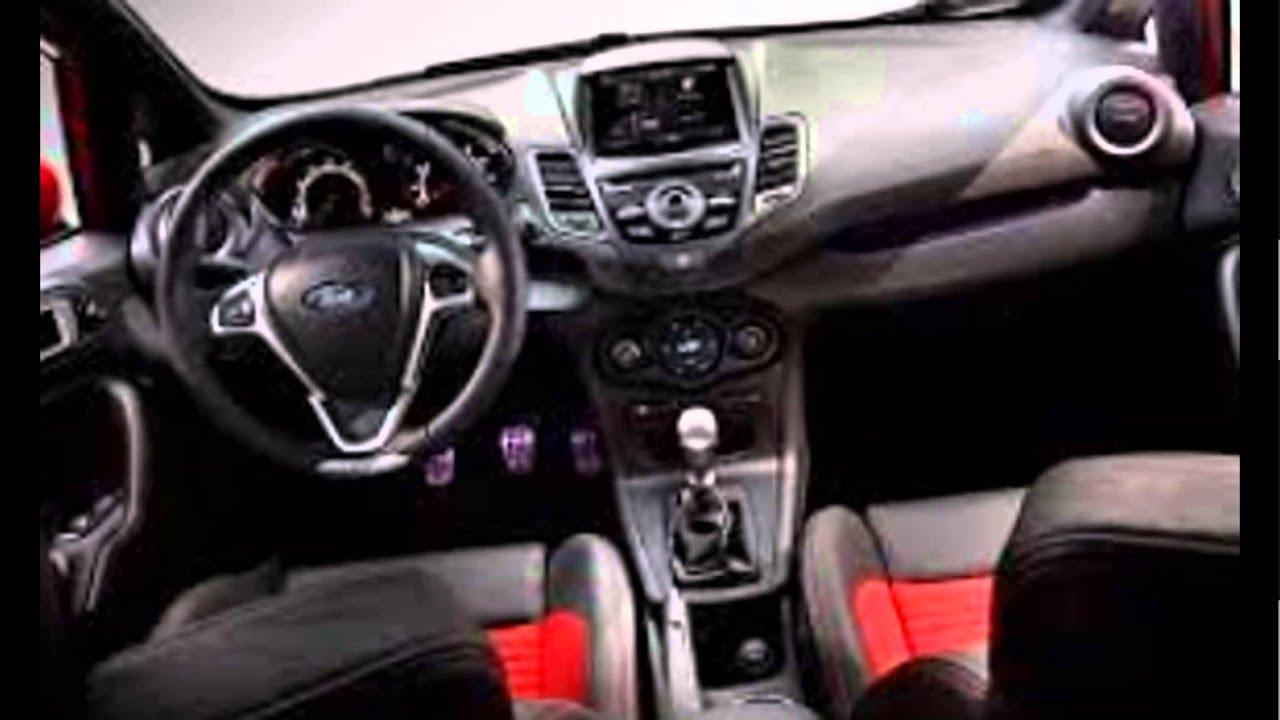 2016 Ford Fiesta St Hatchback Interior Youtube