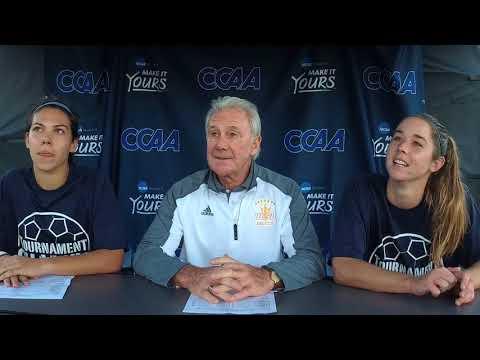 2017 CCAA Women's Soccer Championship - UC San Diego post-game