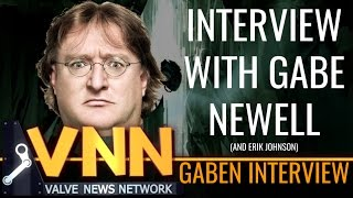 Interview with Gabe Newell
