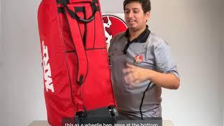 MRF VK18 Wheelie Duffle Kit Bag - Large
