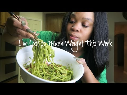 Day 4| Raw Vegan Challenge (I've lost so much weight this week) #FitFebruary