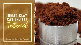 Delft clay casting is a wonderful way to reproduce pieces of jewellery or produce your own series if you are not able invest in lost wax (yet). yo...