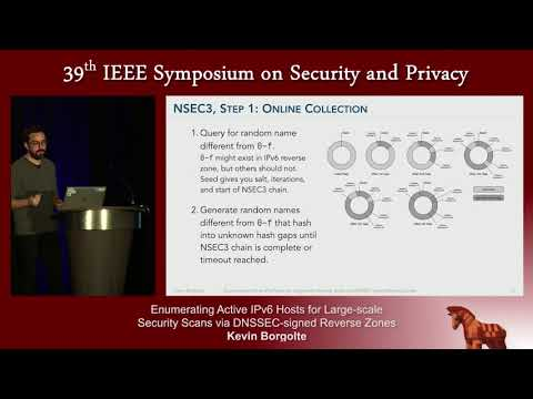 Enumerating Active IPv6 Hosts for Large scale Security Scans - Kevin Borgolte