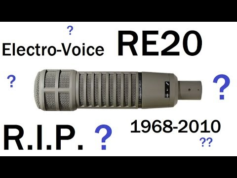 Why I sold my EV RE-20 microphone...