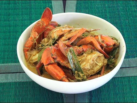Crab Curry - Sri Lankan Crab Curry - Fresh Crab Curry - Crab Recipes - Crab masala
