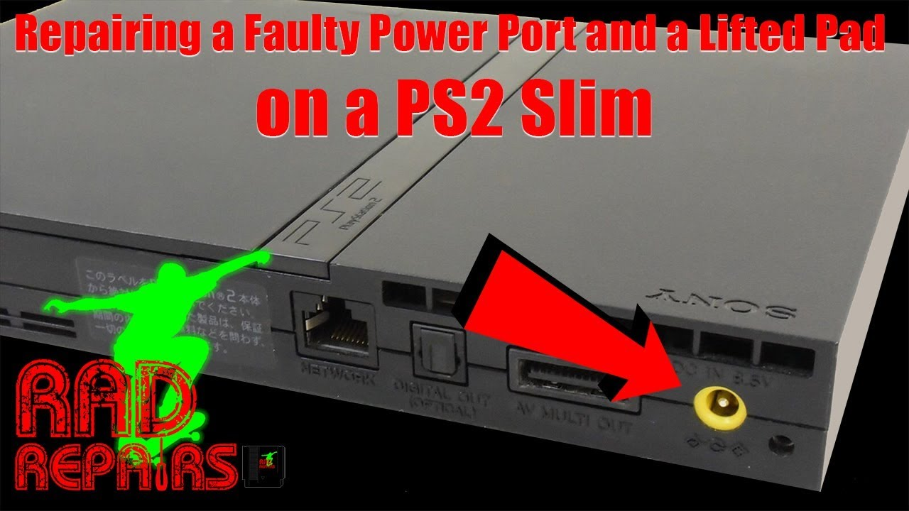 Repair A Missing Pad And Restore Power To A Ps2 Slim Rad Repairs Ep 12 Youtube