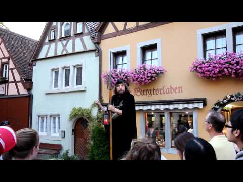Rothenburg odT Night Watchman
