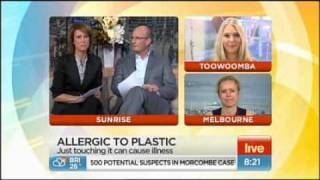 Woman allergic to plastic. Multiple chemical sensitivity is on the ...