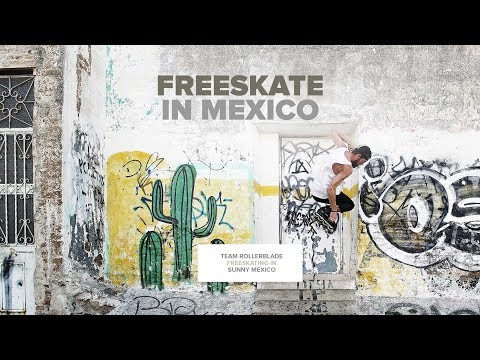Rollerblade® Freeskate in Mexico