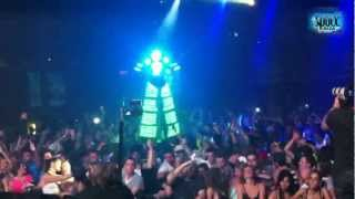 Jay Lumen live at Space Ibiza Festival Toronto / Canada / 09-06-2012 (Including Special Robot Show)
