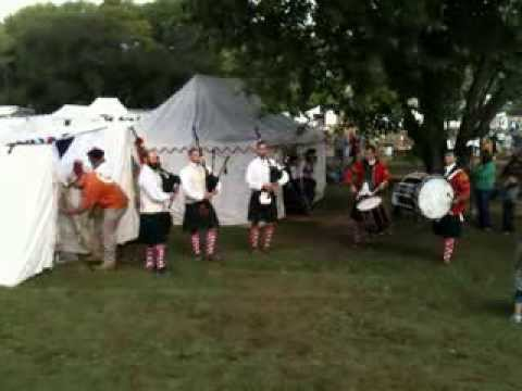 42nd Royal Highlanders at Feast of the Hunter