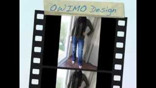 Grunge Jeans selber machen - OWIMO Design Upcycling