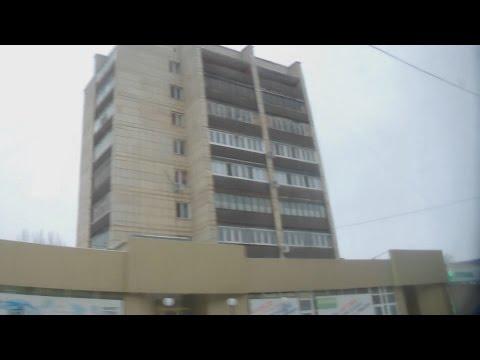 . Орск. Автовокзал-Петрашевцев-Краснознаменная - Поездка в трамвае