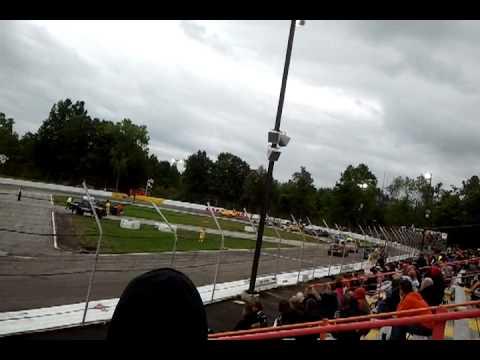Lake County Speedway 150 lap race START