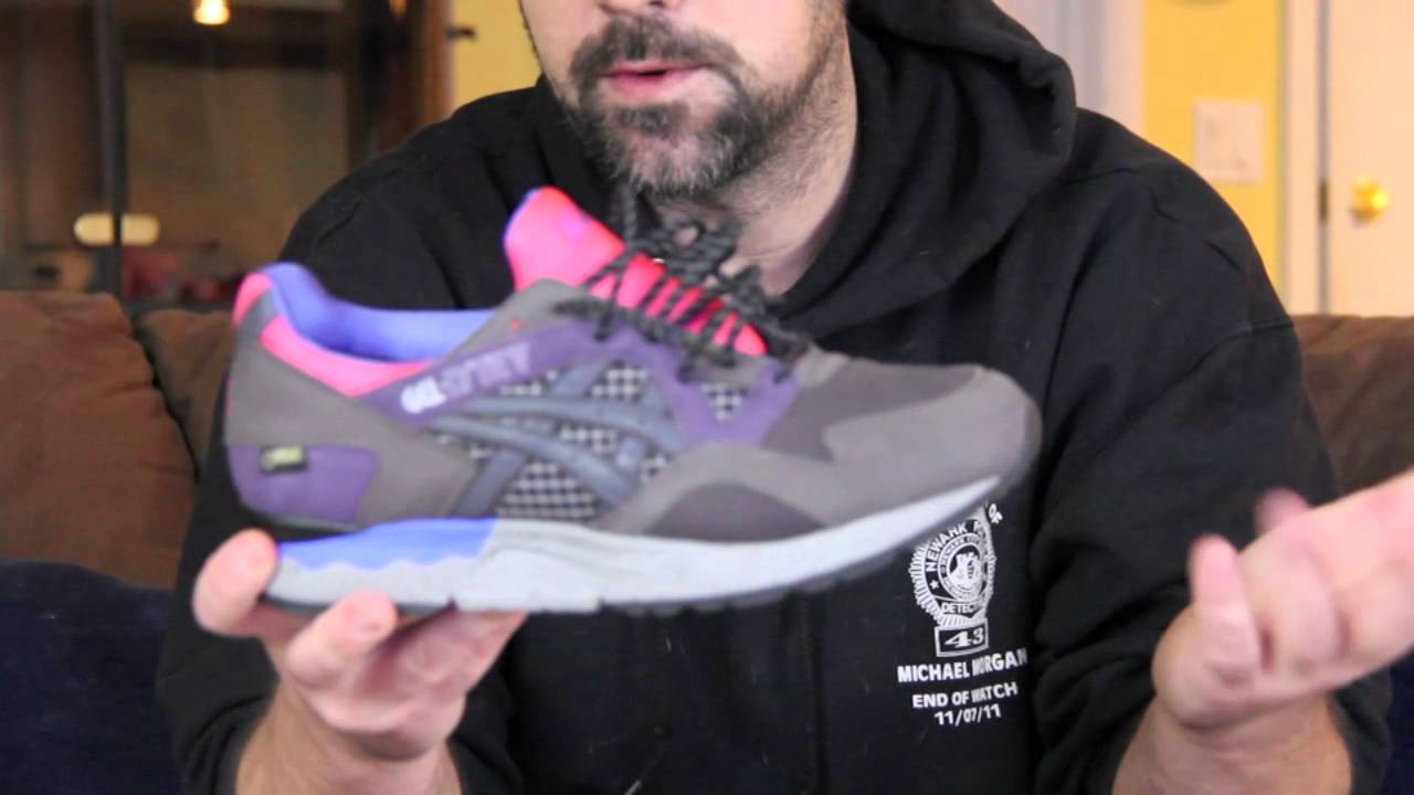 ASICS Gel Lyte V Packer Shoes x Gore tex Charcoal