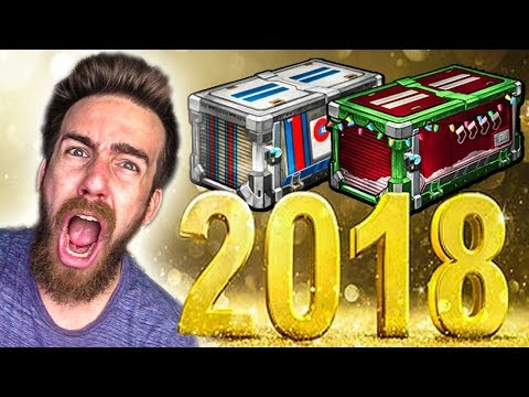 THE NEW YEARS DAY CRATE BATTLE!