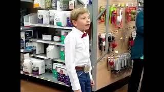 YODELING WALMART KID (BEST REMIX EVER)