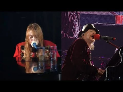 Axl Rose's Voice (1992 vs 2010) – November Rain