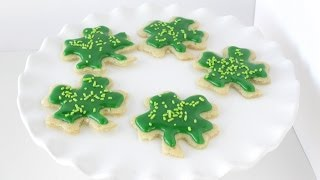 How To Make Shamrock Cookies